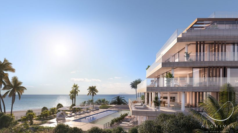 A beachfront development of great exclusivity, located in Estepona, where only14 luxury homes and a unique lifestyle are on offer.
