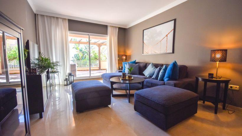 Ground Floor Apartment for long term rent in Jardines de Santa Maria Golf, Marbella East
