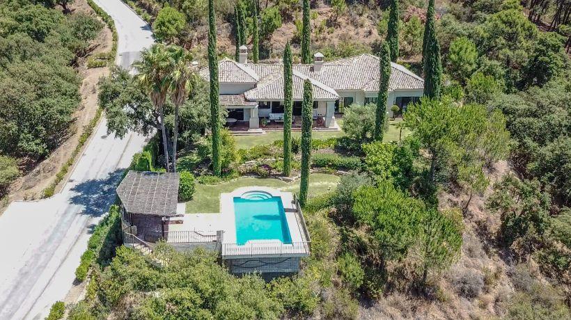 Villa for long term rent in La Zagaleta, Benahavis