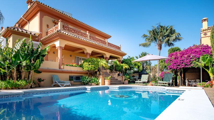 Villa En alquiler de corta temporada en San Pedro de Alcantara