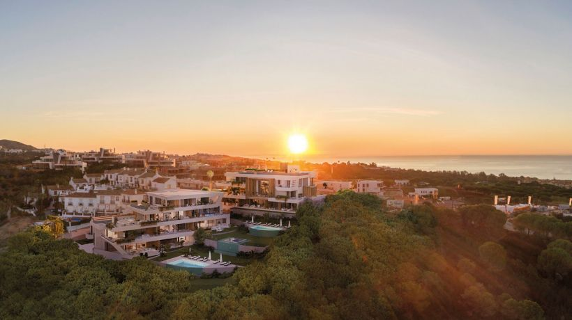 Each home in Marbella Sunset is unique, no two are alike. However, there is something they all have in common: space is the protagonist.
