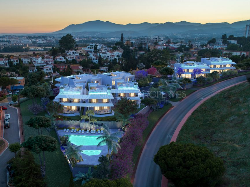 Celeste, Outstanding contemporary new development located in an extraordinary plot in Nueva Andalucia.