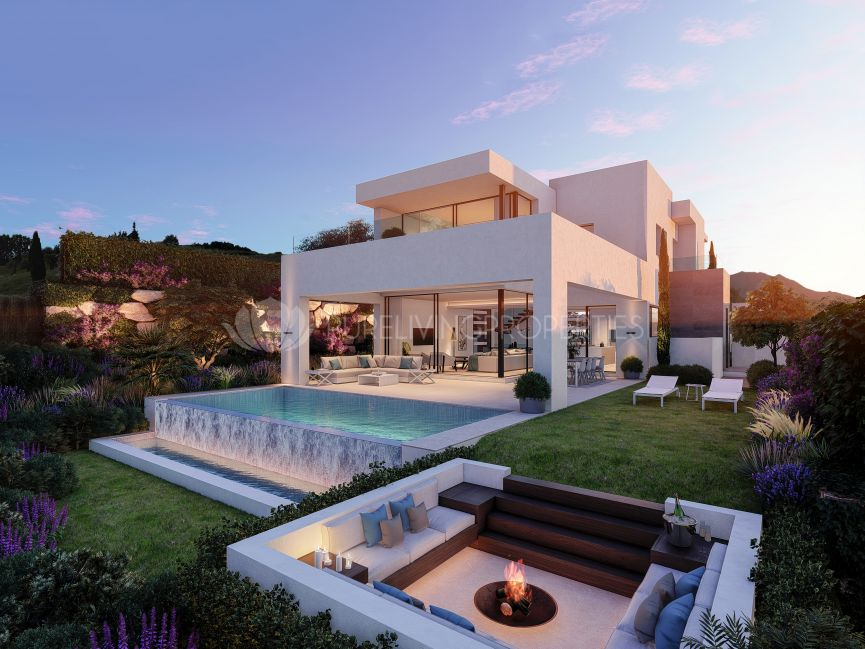 Takara, New modern jewel of 10 luxury villas in Estepona Golf.