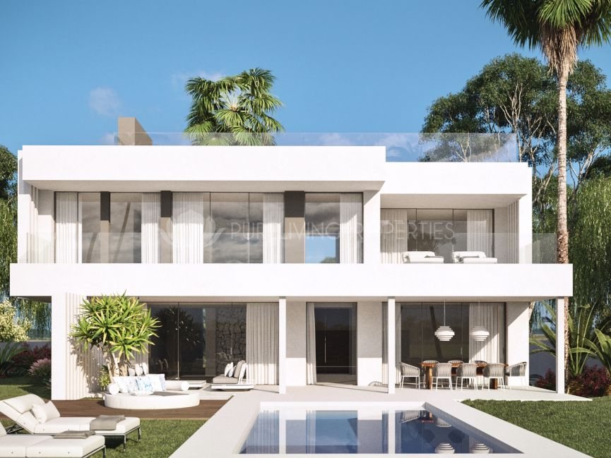 Ántik Villas, Seven modern South facing villas in Cancelada, Estepona.