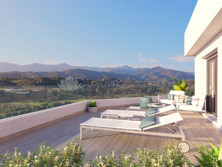 Oceana Gardens, Modern development of apartments and townhouses in Cancelada, Estepona.