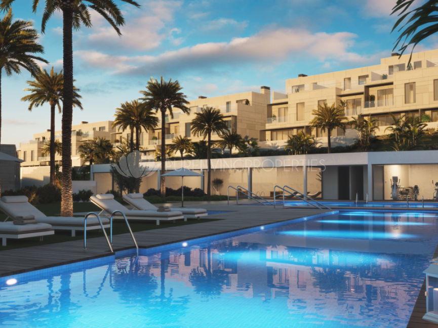Vanian Valley, New development of 53 townhouses located in the New Golden Mile, Estepona