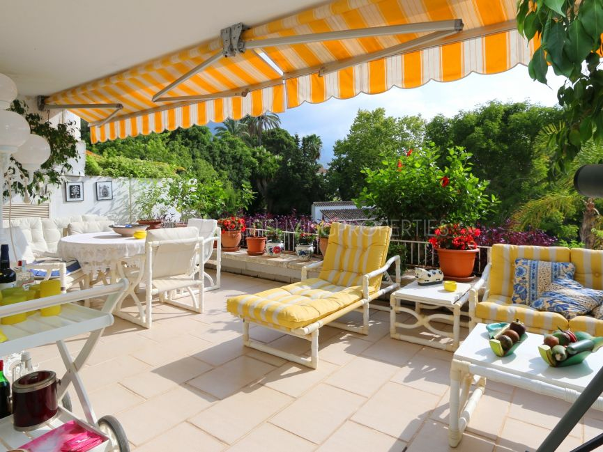 A Sunny Terrace Apartment on the Golden Mile