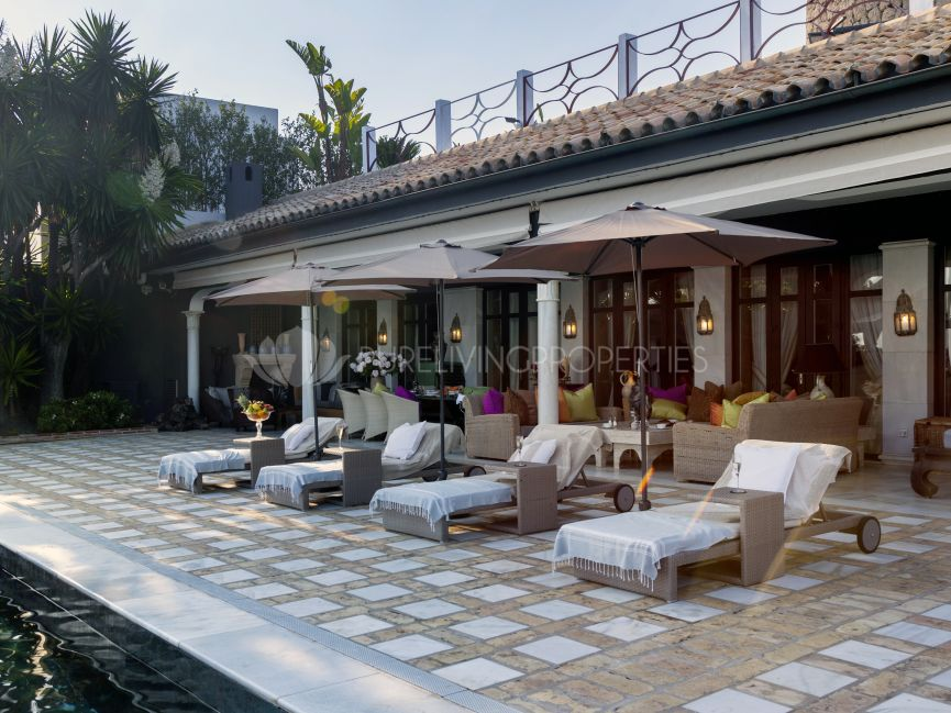 Unique & Exquisite Property on Los Monteros Beachfront