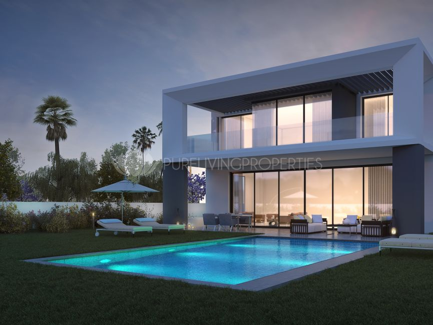 Exclusive Modern Villa in Puerto Banus a couple of meters away from the beach