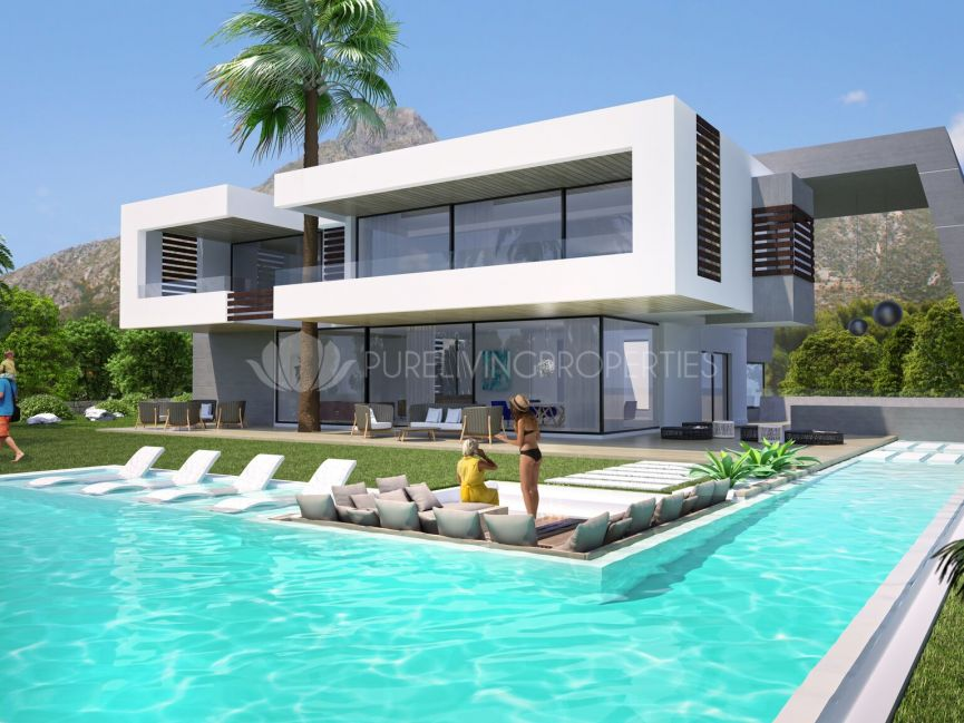 Exclusive brand new villa with open views to La Concha