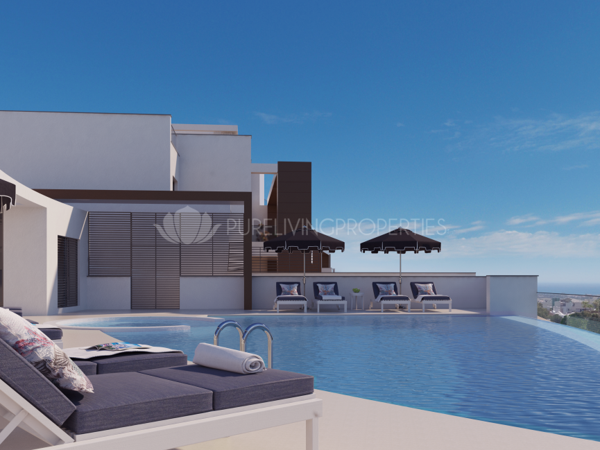 Exclusive 2 bedroom apartment in low density development in Benahavis