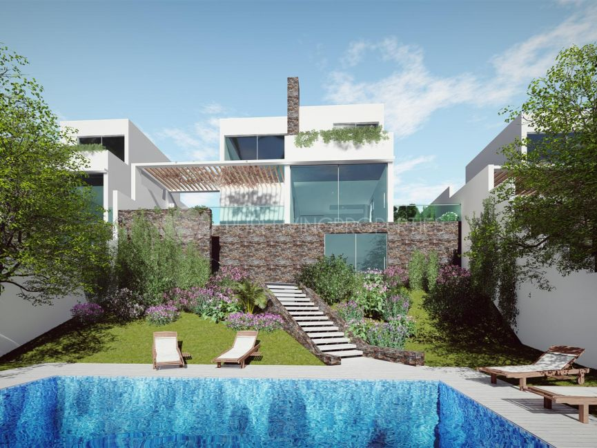 New contemporary villa close to golf courses in La Cala Hills
