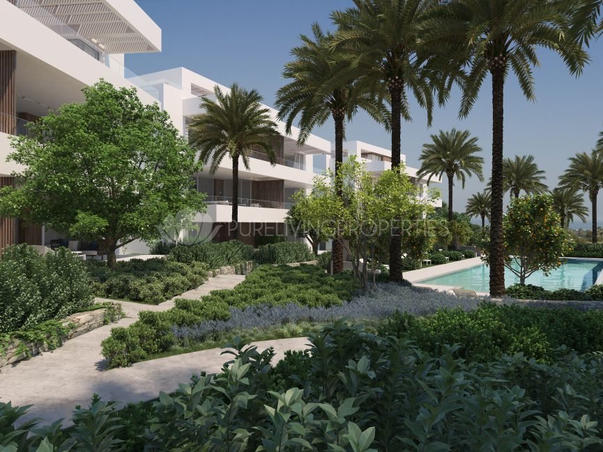 Luxurious brand new first floor apartment in Benahavis.