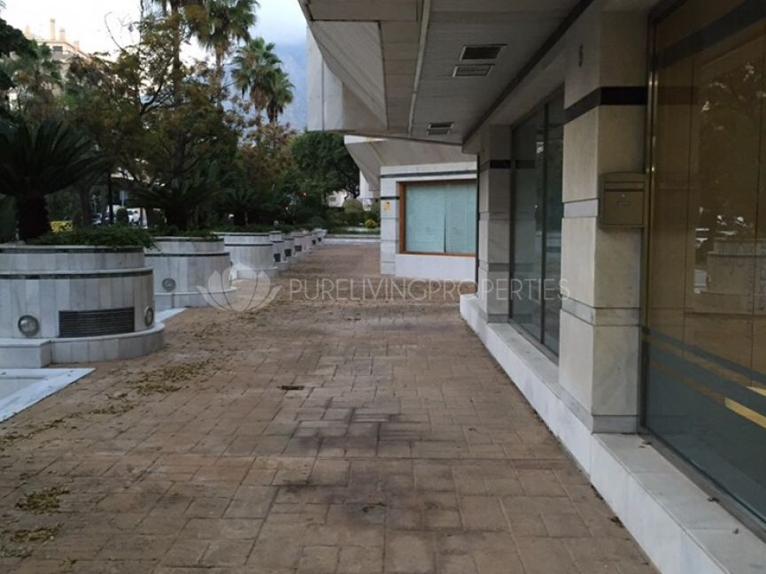 Spacious commercial premises in Marbella town