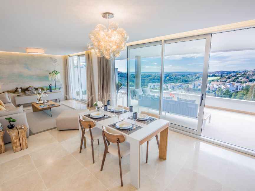 Beautiful penthouse apartment in la Reserva de Alcuzcuz, Benahavis.