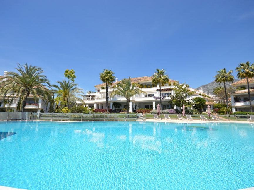 Magnificent five bedroom apartment in Monte Paraiso.