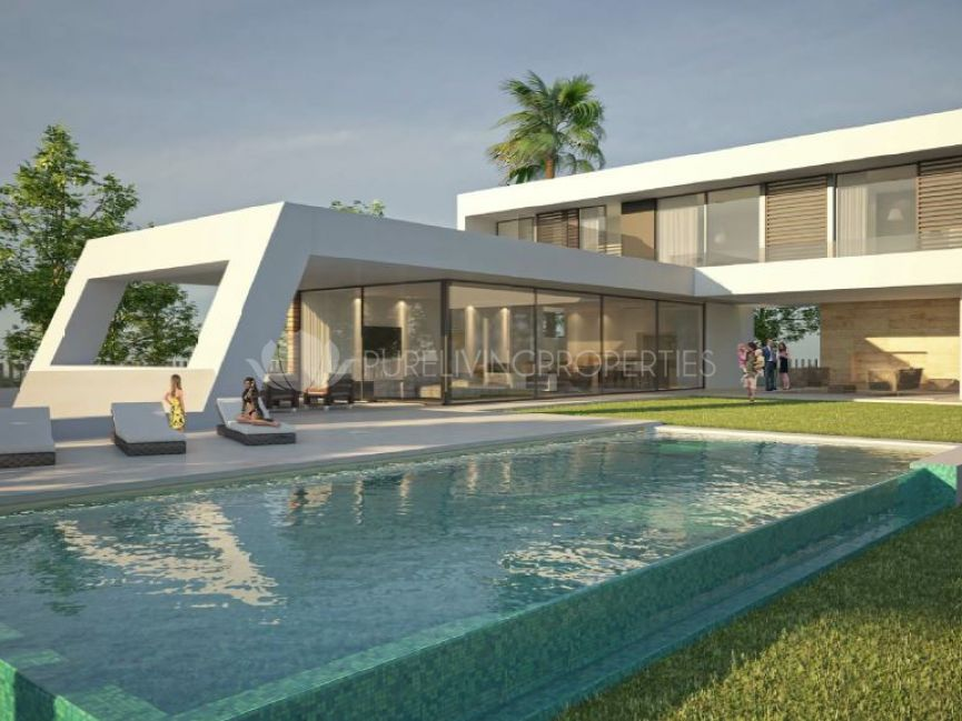 Spectacular villa 500m away from the beach.