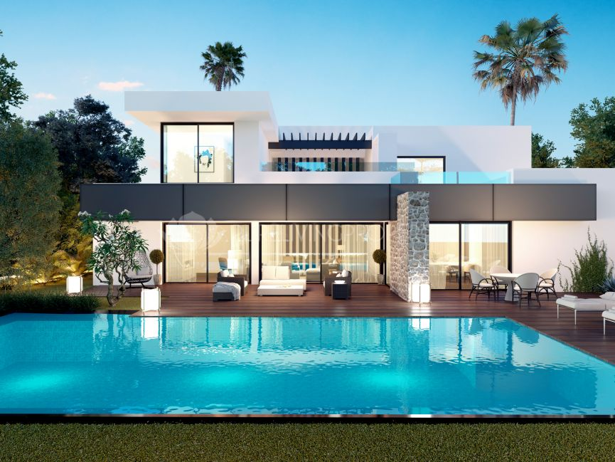 New villa in El Paraíso, Estepona.