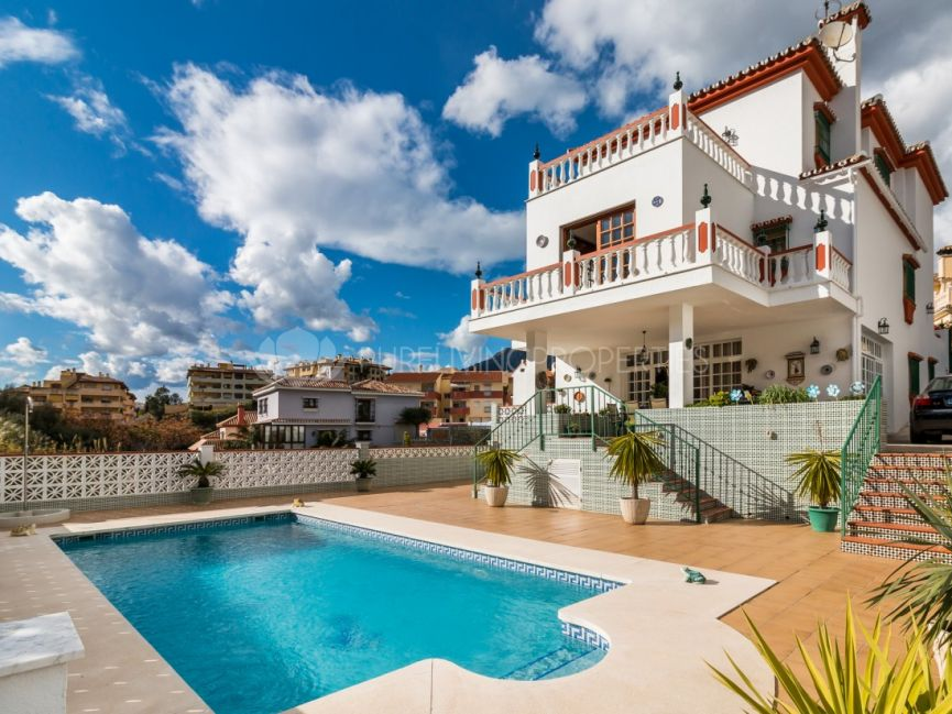 Beautiful villa in the centre of Marbella.