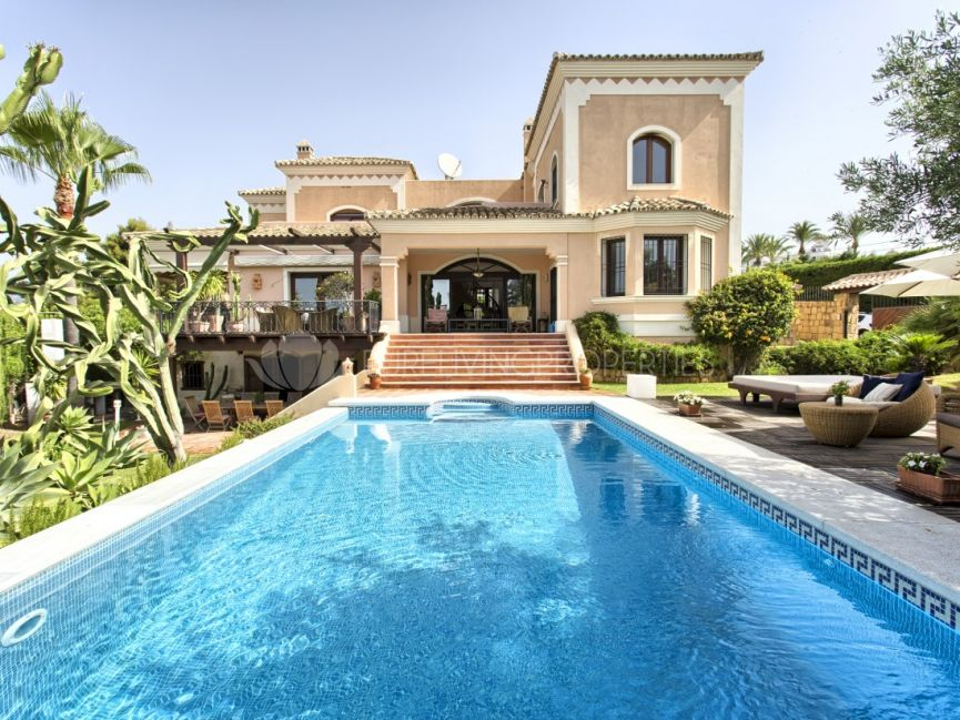 Spacious villa in Nueva Andalucia.