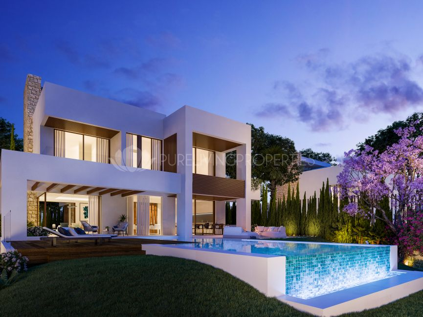 Luxury four bedroom villa in Marbella
