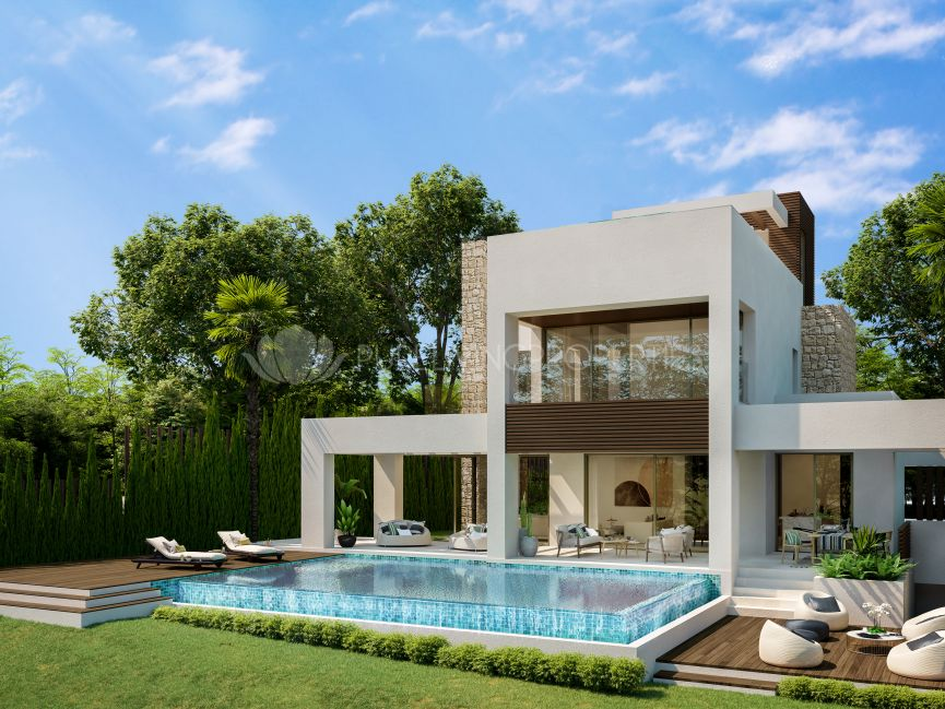 Luxury villa in a gated development in Marbella