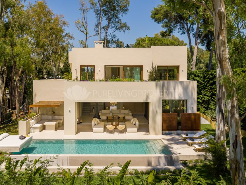 Brand new villa in Los Monteros.