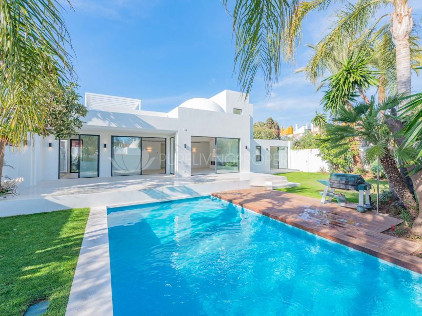 Brand new luxury villa in Nueva Andalucia