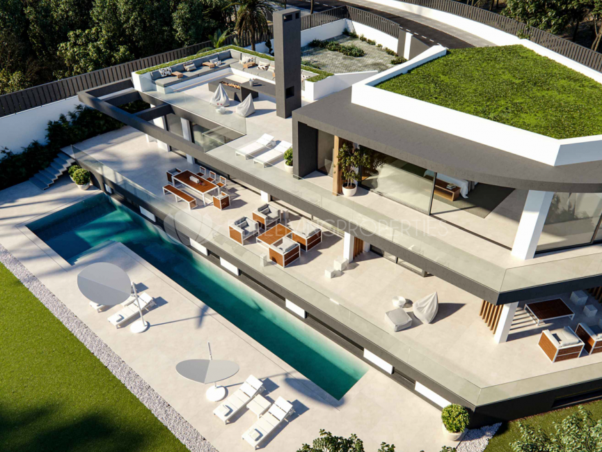 Unique brand new villa in Lomas de Marbella Club