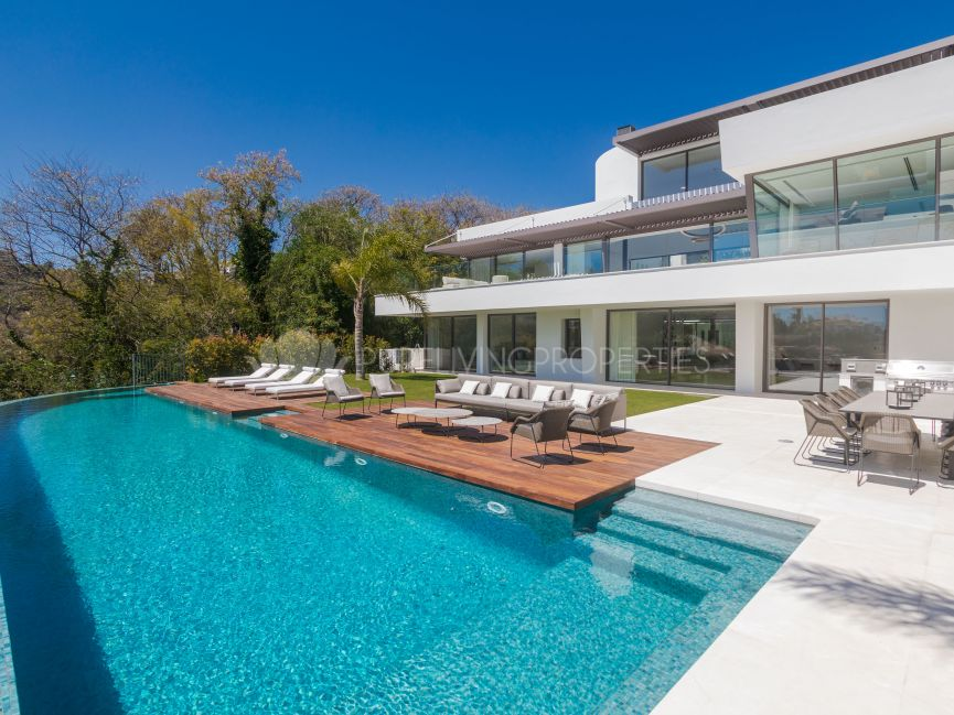 Brand new villa situated in the privileged residential area of La Quinta, Benahavis,