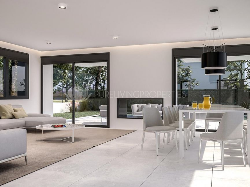Spectacular new project of a four bedroom villa in Nueva Andalucia.