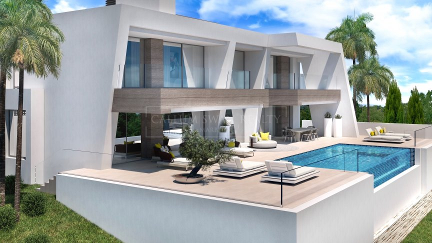Estepona, Luxury modern villas in Estepona