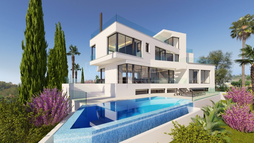Benahavis, Contemporary new villa in La Quinta