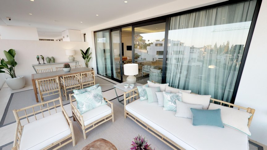 Marbella Golden Mile, Luxury apartment with exclusive design in Marbella's Golden Mile