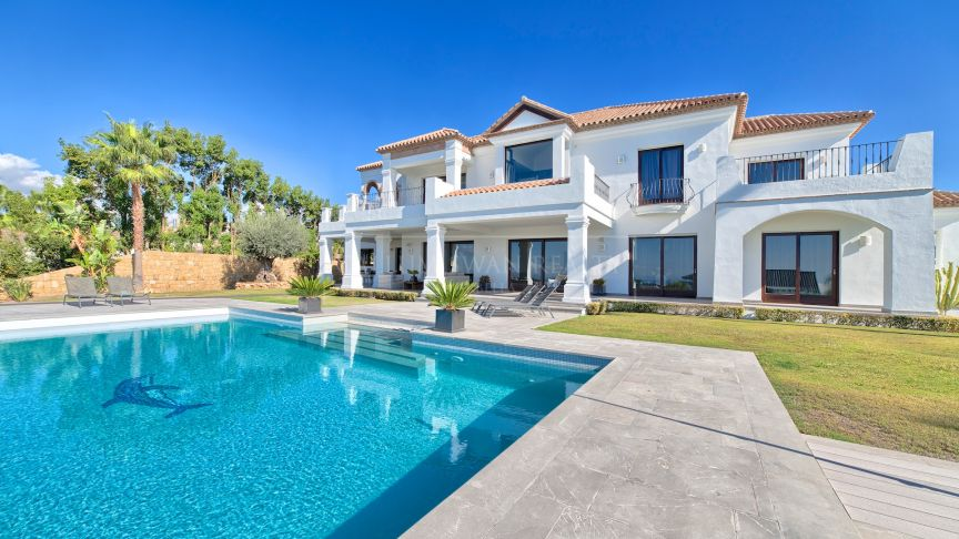 Benahavis, Top quality house in Los Flamingos