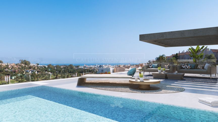 Estepona, Luxury apartments in the New Golden Mile.
