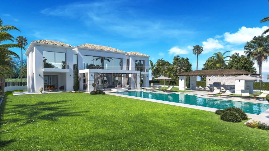 Estepona, Brand new luxury villa in Casasola near the beach