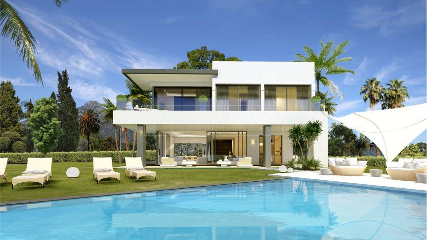 Marbella Golden Mile, Elegance and luxury in a gated community of Villas on the Golden Mile