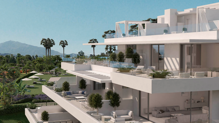 Estepona, Brand new modern penthouse in Atalaya area