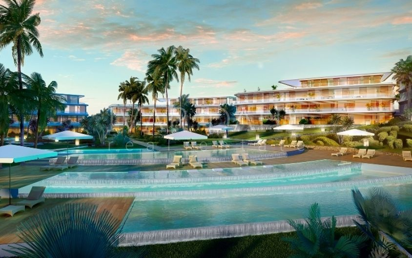 New project of Front Line Beach Apartments in Estepona