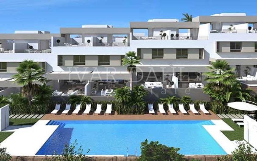 New build terraced homes at La Cala Golf in Mijas-Costa