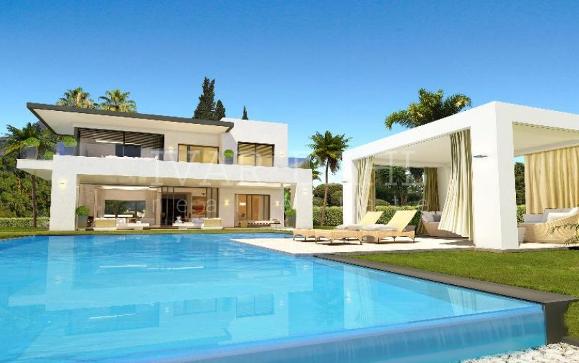 New Villas situated in Golden Mile Marbella