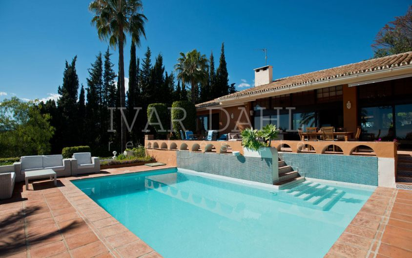 A rustic style home with character on the Golden Mile, Marbella