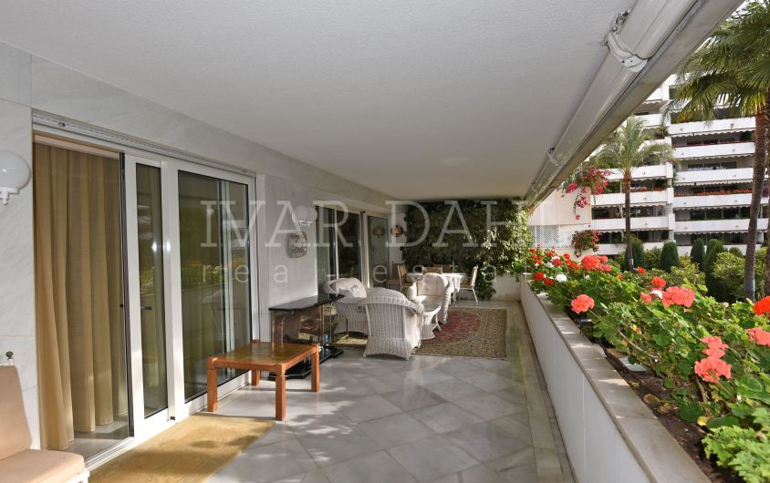 A beautiful home in one of the best areas of Marbella centre