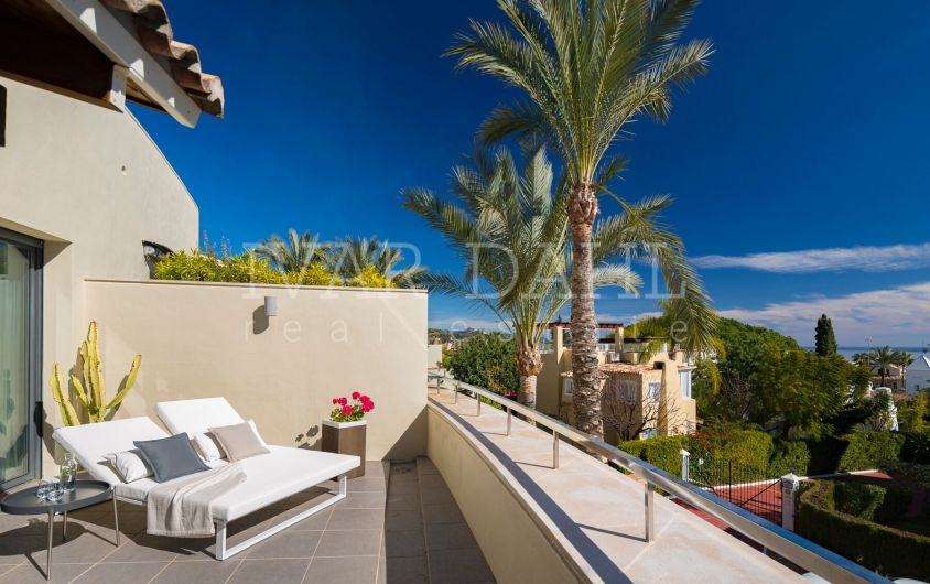 Beautiful, cosy Apartment duplex in Imara, Marbella, Sierra Blanca, Malága, Costa del Sol.