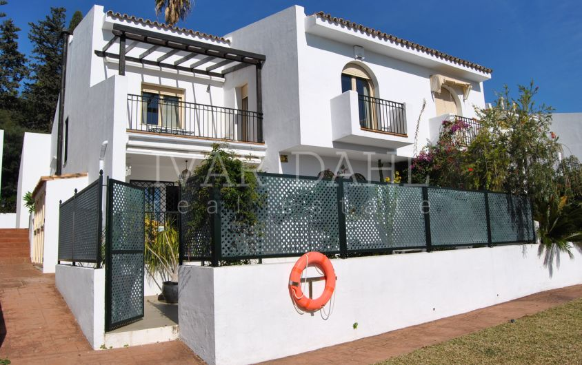 Townhouse for sale on the Golden Mile of Marbella, Málaga
