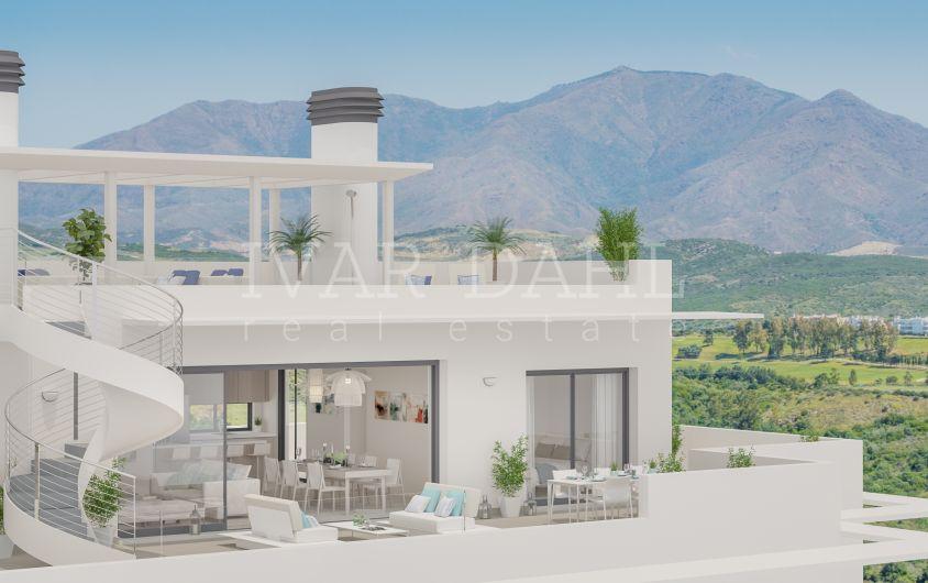 Neue moderne Wohnanlage mit Meerblick in Casares, Costa del Sol