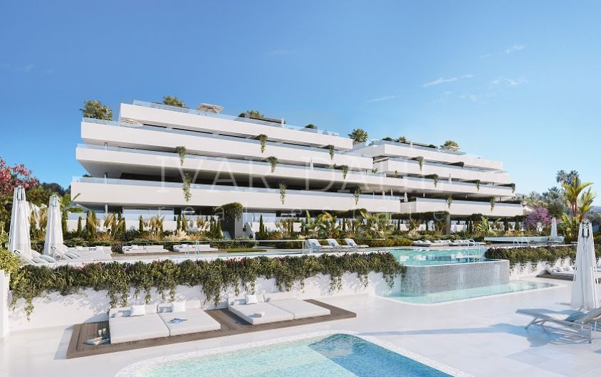Campanario Hills, New modern apartments and penthouses for sale in Estepona, Malaga.