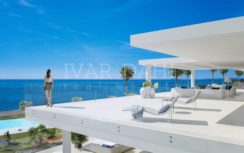 New Luxury Front Line Beach Apartments and Penthouses for sale in Estepona