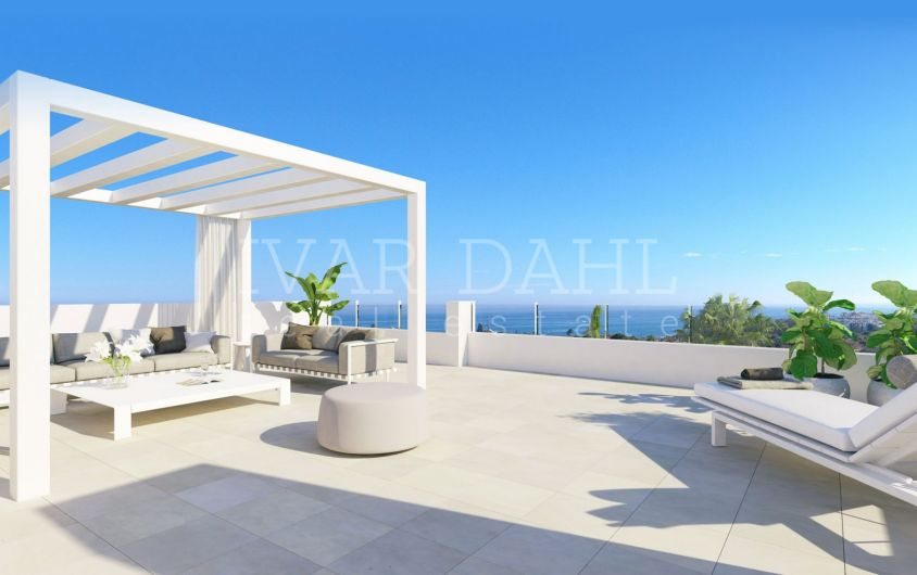 Las Olas, New modern apartments and penthouses in Estepona, Costa del Sol